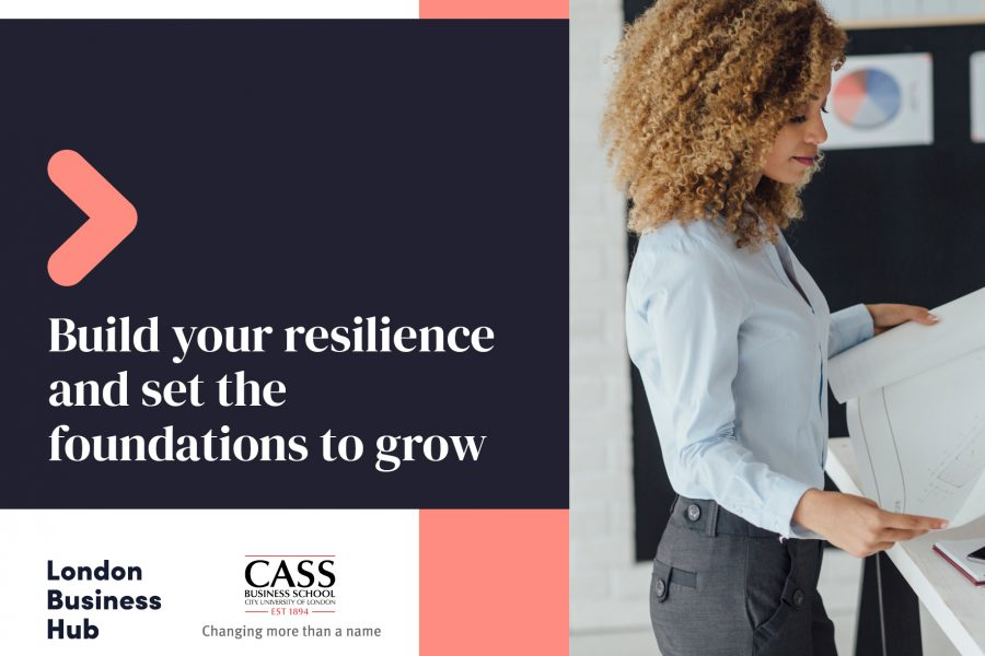 Build your resilience and set the foundation to grow. London Business Hub and The Business School